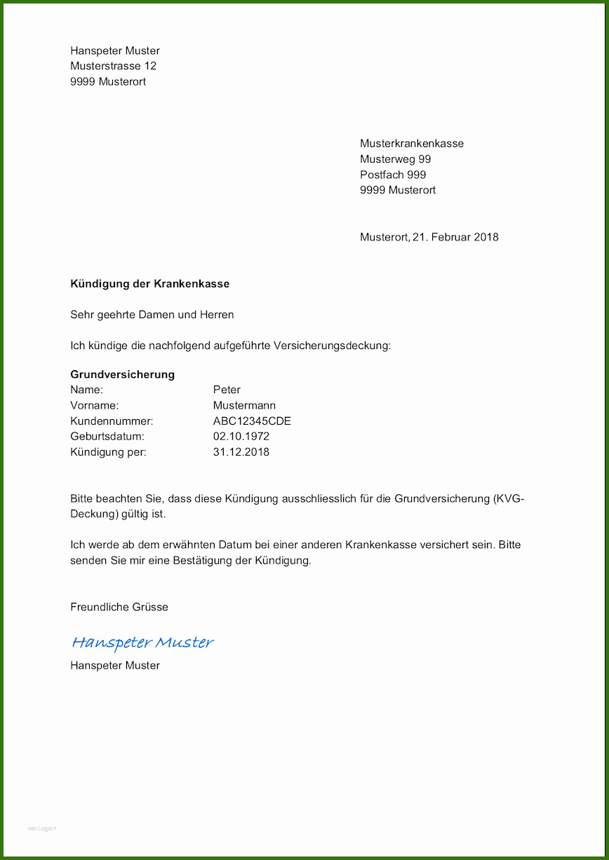 007 Kündigung Vertrag Vorlage Vorlage Kündigung Für Job