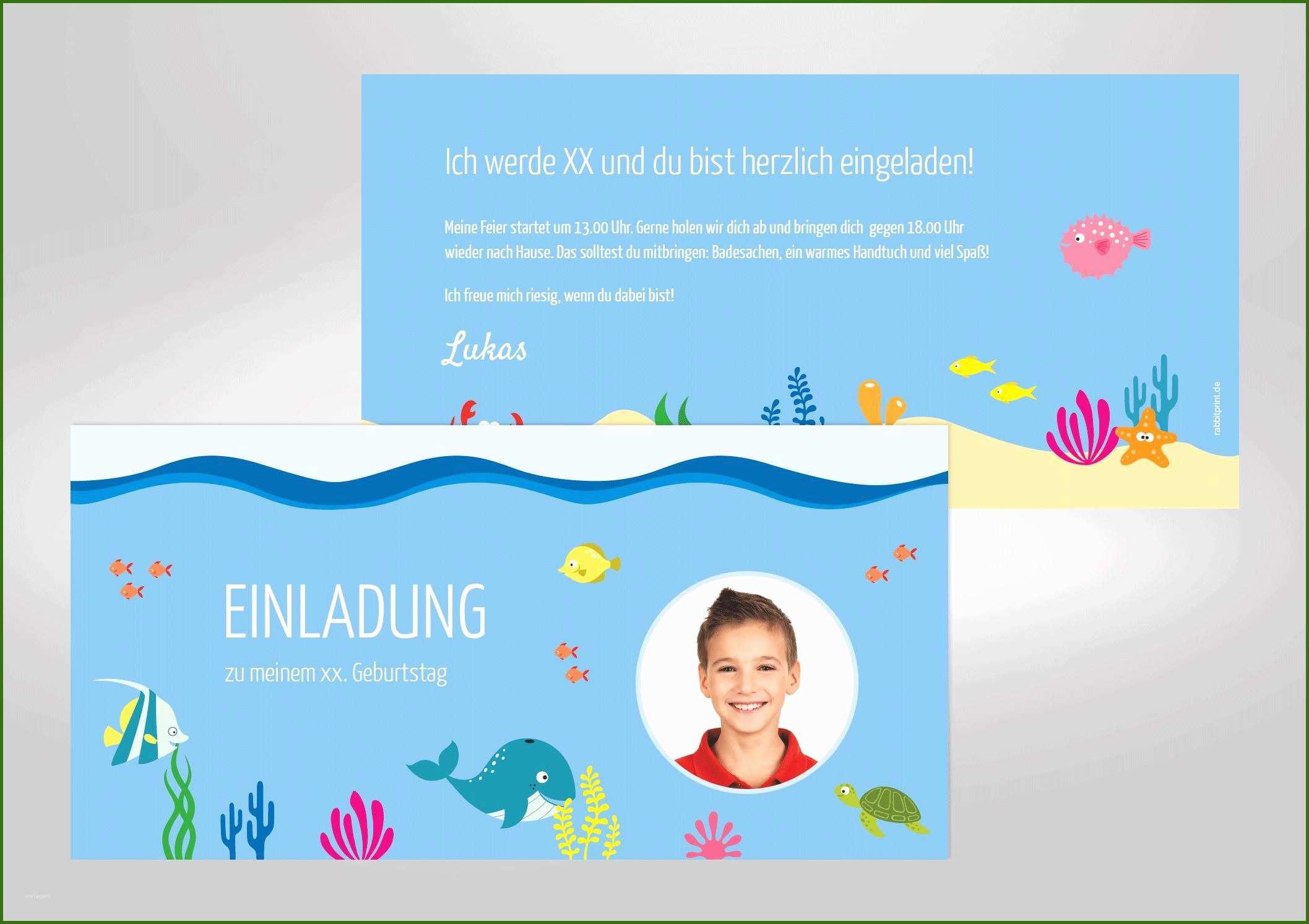 026 einladungskarten kindergeburtstag vorlagen einladung