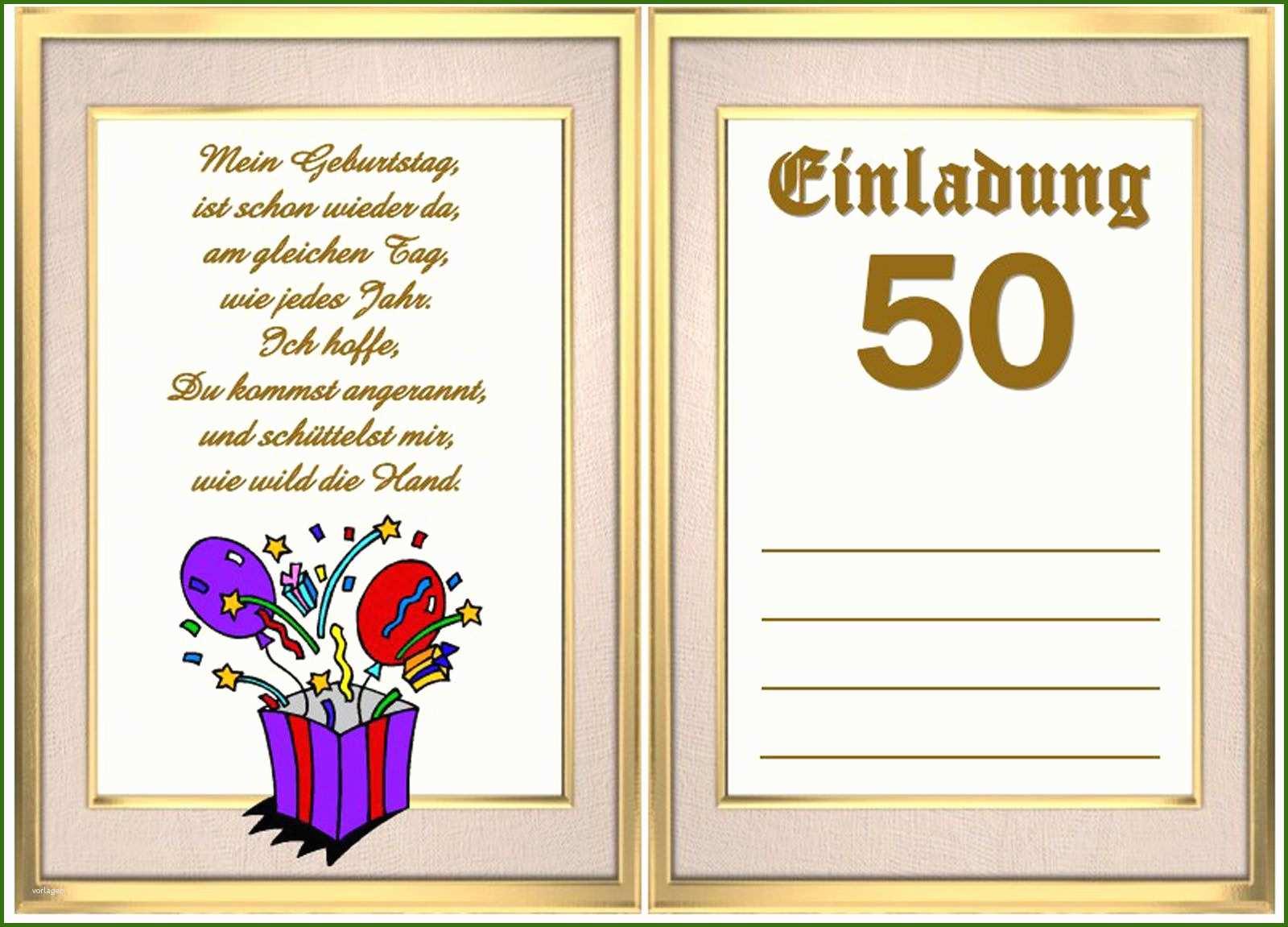 028 einladungskarten 50 geburtstag vorlagen