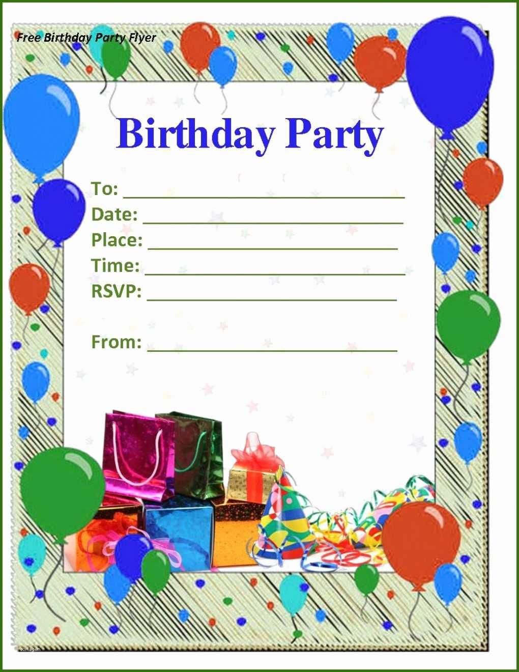 028 Geburtstagseinladung 50 Vorlage Word