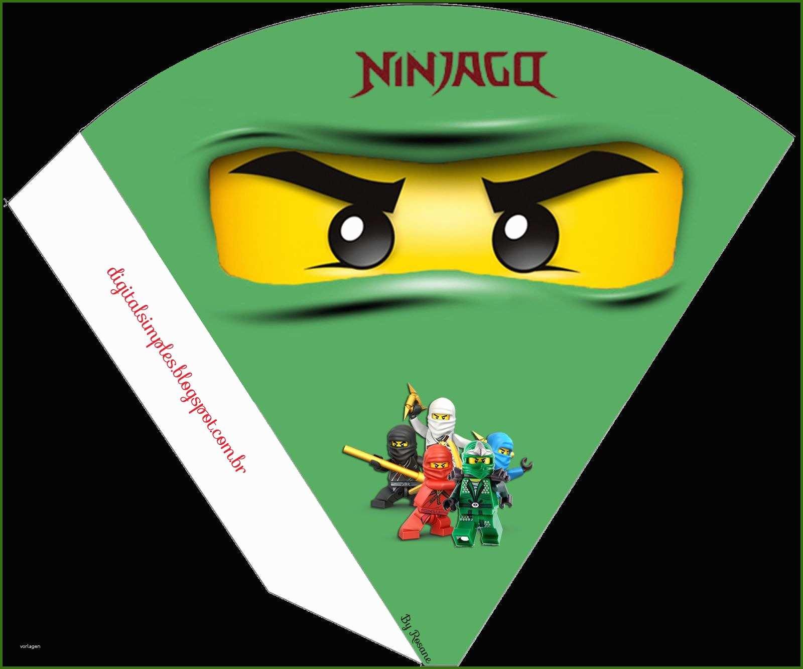 fantastisch 70 lego ninjago einladungskarten zum